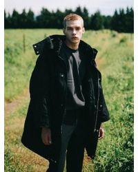 VRUMOUS - Black Oversized Heavy Parka - Lyst