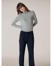 HIDDEN FOREST MARKET Verdi Trousers - Blue