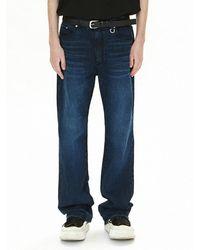 VOIEBIT V087 Light Weight Denim Pants - Blue