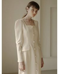 FLOWOOM Falling For You Dress (cream) - Natural