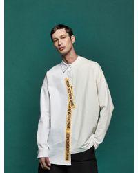 DBSW - Half And Half Oversized Sweatshirts - Lyst