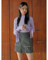 Noir Jewelry Jenny Top - Purple