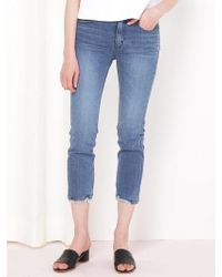 &W STUDIO Memories Slim Straight Jeans - Blue