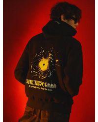 SHETHISCOMMA - [unisex] Bullet Mark Hoodie - Lyst