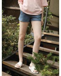 Noir Jewelry Cotton Shorts - Multicolor