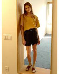 among - A Linen Shorts - Lyst