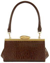 Reike Nen Rl3-bg004 Pebble Short Mini Bag - Brown