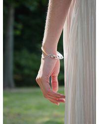 1064STUDIO Shape Of Water Bracelet 25b - Orange