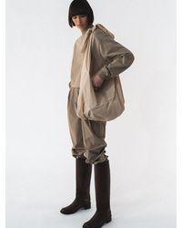 Amomento Large Shoulder Bag - Natural
