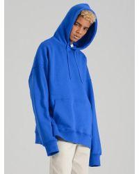 COSTUME O'CLOCK Smcocl K Oversized Hooded Sweatshirt Blue