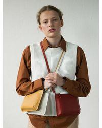 Awesome Needs Cow Leather Bumpy Mini Bag 6color - Multicolour