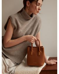 Coccinelle Evasion Grain Bag - Brown