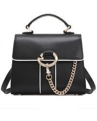 Lapalette Cannes Rosee Mini Satchel Bag - Black