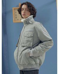 LIBERTENG Soft Heat Padded Jacket Grey