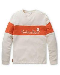 Golden Bear Oversized Color-blocking Sweatshirt - Multicolour