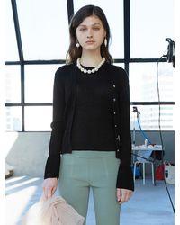 J.CHUNG Rioli Cardigan Knit Set - Black