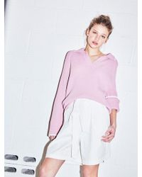 NOHANT - Cotton Ribbon Shorts White - Lyst