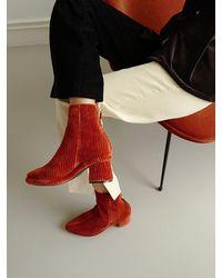 Reike Nen Ring Middle Boots - Multicolour