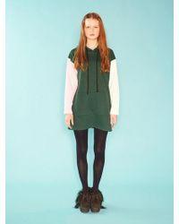 W Concept - Mif Hoody Dress - Lyst