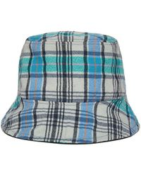 473803b434795d Awesome Needs - Basic Bucket Hat_check Blue - Lyst