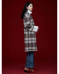 Grace Raiment - Oversize Check Cardigan - Lyst