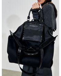 UNDER82 Moi Shopper Bag Black