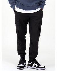 COSTUME O'CLOCK Essential Cargo Pocket JOGGER Trousers - Black