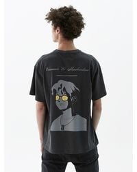 Heich Blade Pigment Rion Animation T-shirt Grey