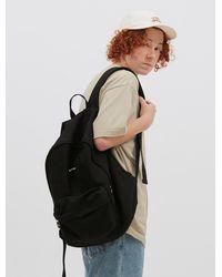 WKNDRS [unisex]wavy Logo Backpack Black