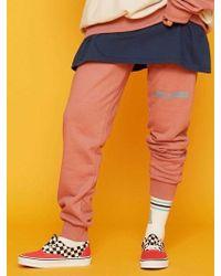 BUBP - [unisex] Jogger Pants_pink - Lyst