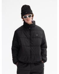 WKNDRS Reversible Padded Jacket - Black