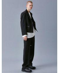 VOIEBIT V631 Crop Zipper Jacket_black