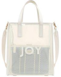 Joy Gryson Hampton Clear Bag Large Lw0sb8120 - White