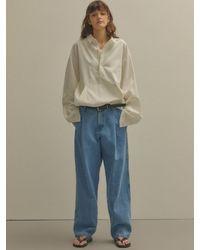 NOHANT Anorak Shirt - White