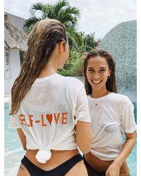 THE ASHLYNN Logo T-shirt - White