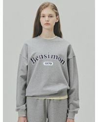 Bensimon 1979 Heritage Sweatshirt - Grey