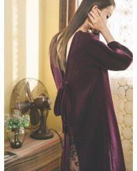 Grace Raiment - Back Open Knit Dress - Lyst