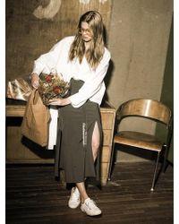 OUAHSOMMET Wrap Skirt-pants_kh - Multicolor