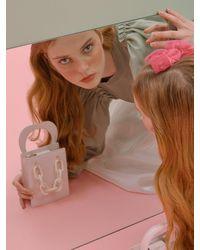 Simon Carter Mini Queens Tote Bag - Pink