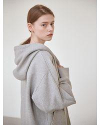NILBY P Hooded Zip-up - Grey