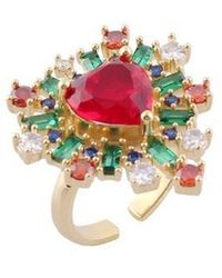 NOONOO FINGERS - Angels Red Heart Ring - Lyst