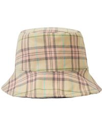 Awesome Needs - Basic Bucket Hat_check Pink - Lyst