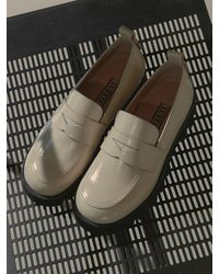 TUFEIS Versatile Round Loafers - Multicolour