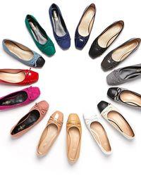 JUST JINNY J Ballerina Flat Shoes - Multicolour