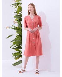 MILLOGREM Amora Dress - Pink