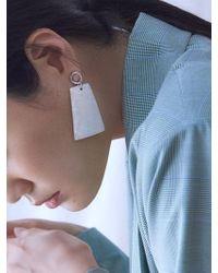 Matias | Ivory Shell Earring | Lyst