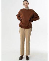 38comeoncommon Pintuck Pants - Natural