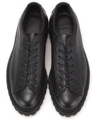 DEMIHAND Lowcut Monkey Boots - Black