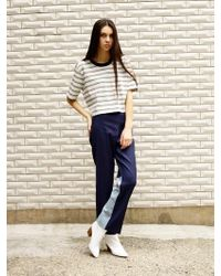 OUOR - Back Block Pants - Lyst
