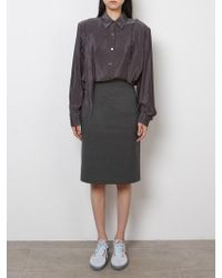 Fleamadonna - Back Pleats Skirt - Lyst